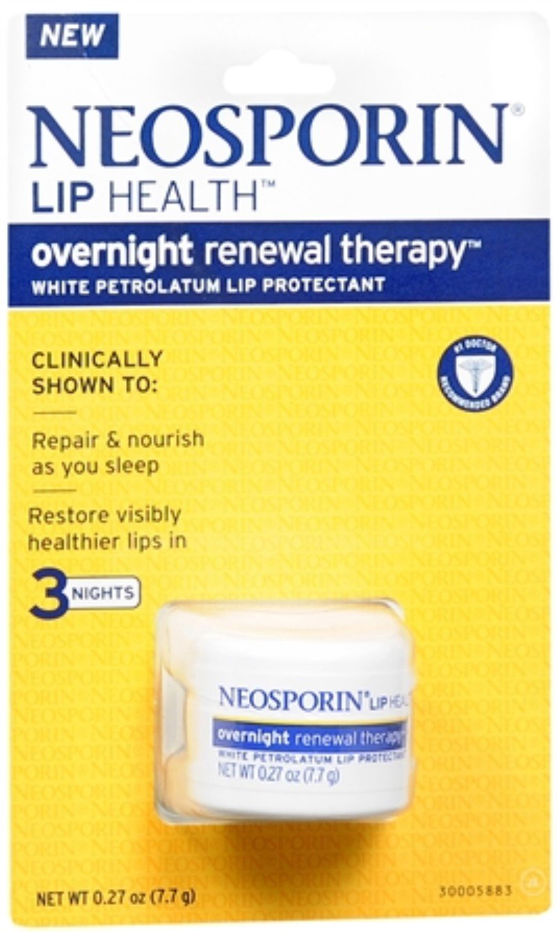 Neosporin Lip Health Overnight Renewal Therapy 0.27 oz (Pack of 11)