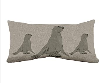Amazon.com: Leon Marino Pattern Rectangle Decorative Cotton ...