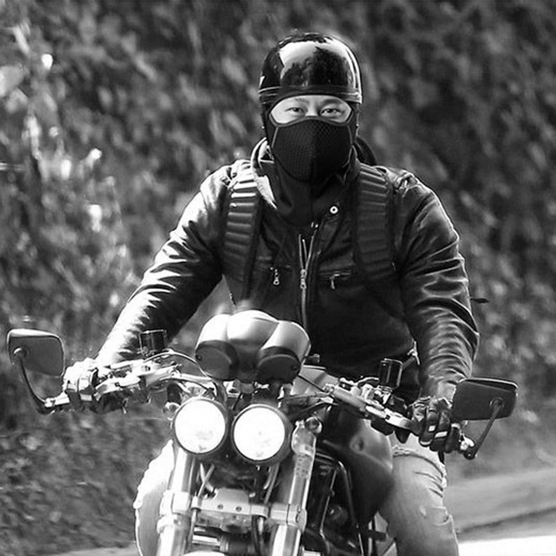 Beetest Passamontagna Moto Inverno Universale Impermeabile Antivento Traspirante Sci Ciclismo Caldo Maschera in Pile per Uomo Donna Ragazze Bambino