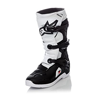 Alpinestars Youth Tech 3S Boots-Black/White-Y8
