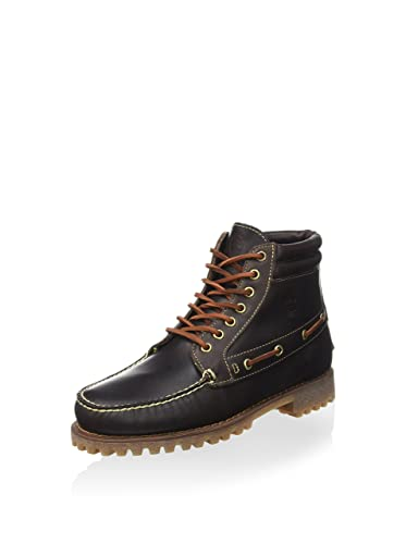 ebaffc3f08c Timberland Pendleton Brown Leather 7 Eye Chukka Boots A13F1: Amazon ...