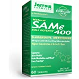 Jarrow Formulas Same 400 mg - 60 Tablets - Highest Concentration of Active S,S Form - Supports Joint Health, Liver Function,