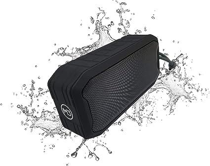 M3 Waterproof Portable Bluetooth Speaker 360 Sub-woofer iPX7 -Dust-Proof - for Indoor-Outdoor (Black)