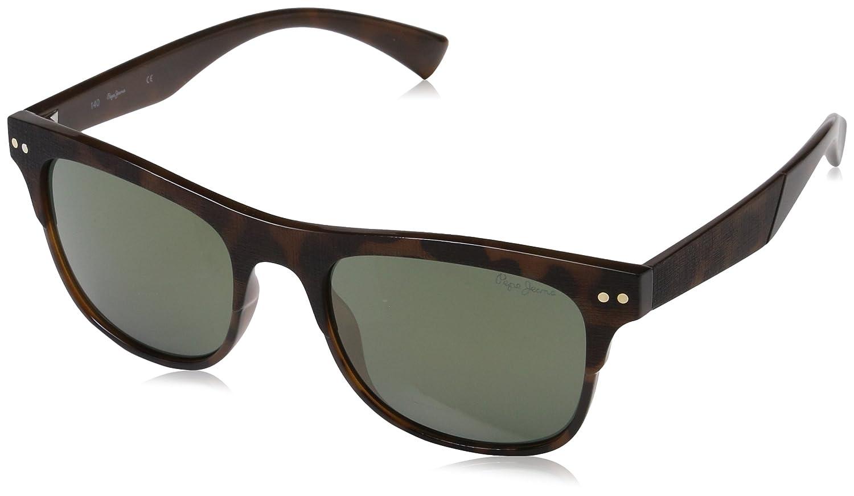 Pepe Jeans Sunglasses Dave, Gafas de Sol para Hombre, Marrón (Tort), 53