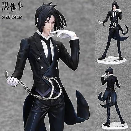 Anime Games Black Butler Sebastian Michaelis Watch Pvc Action