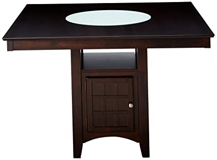 Coaster Gabriel Casual Cappuccino Counter Height Table
