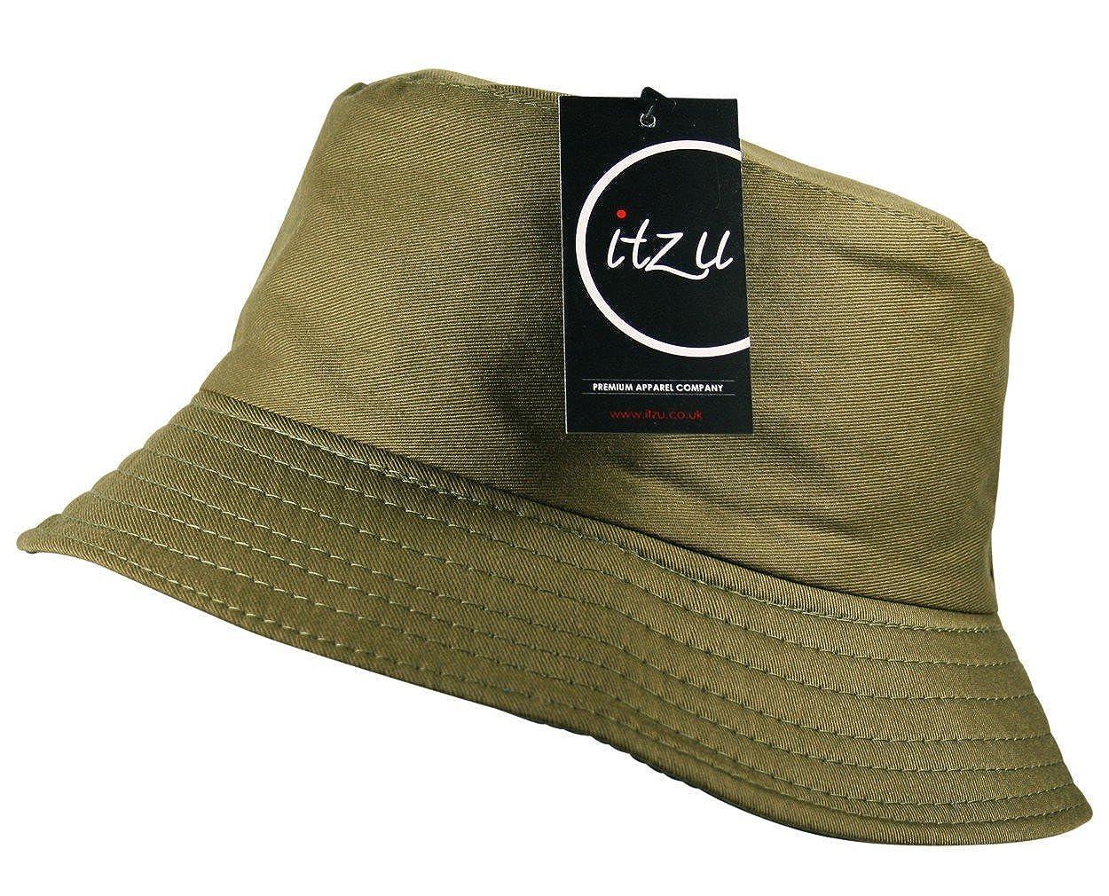 8baac82c3bb Itzu Classic Bucket Bush Hat Plain Adult Unisex  1540987643-202469 ...