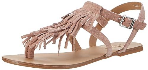 Womens Psberta Suede Wedge Heels Sandals Pieces 8DGZekS