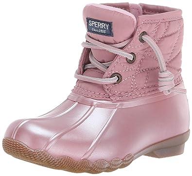 d151018582 Sperry Girls  Saltwater Boot Sneaker