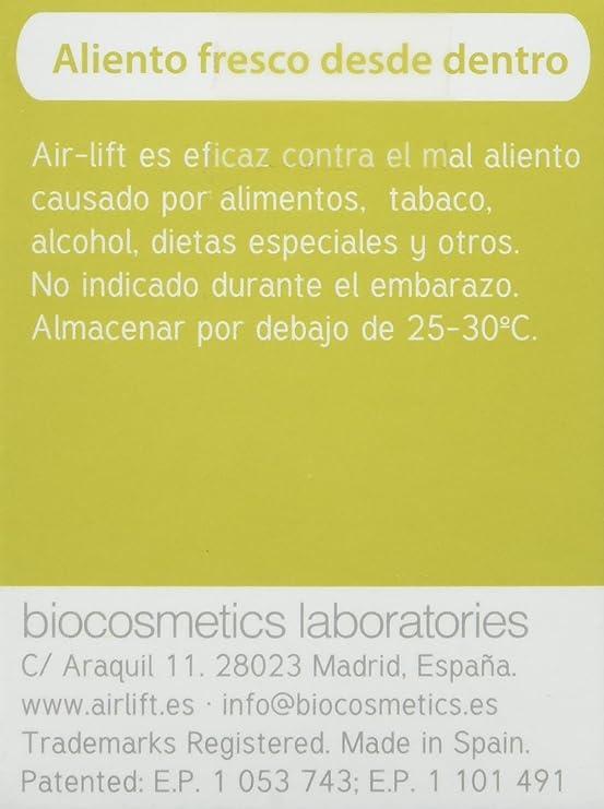 AIR-LIFT Cápsulas para Eliminar el Mal Aliento 40 unidades: Amazon.es: Salud y cuidado personal