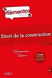 Droit de la construction (Mémentos)