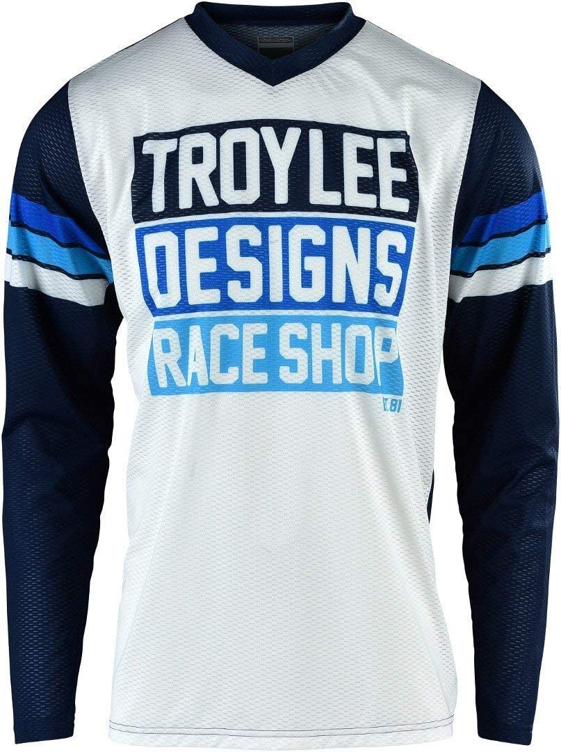 Troy Lee Designs TLD Motocross Jersey GP Air Carlsbad White//Navy Mens Adult MX Off-Road Race