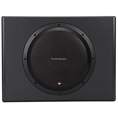 Rockville RW10CA Slim Low Profile Active Powered Subwoofer