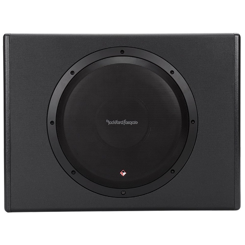 Rockford Fosgate P300-12 Punch 300 Watt Powered Loaded 12-Inch Subwoofer Enclosure by Rockford Fosgate