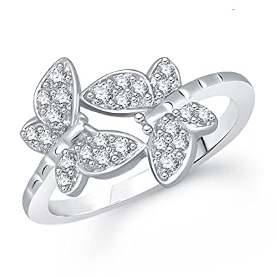 Meenaz Fancy Ring for Girls & Women Gold Plated FR305 MEENAZ