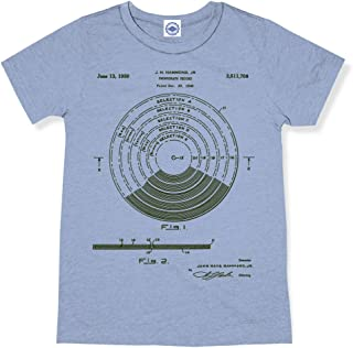 product image for Hank Player U.S.A. Vinyl Record Patent Men's T-Shirt