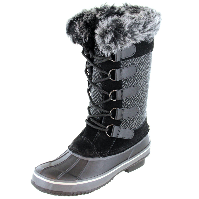 Northside Women's Kathmandu Waterproof Snow Boot B01N4WXF0C 10 B(M) US|Charcoal