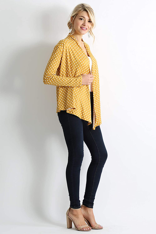 e3ef47e5f6f6 Simlu Womens Open Drape Cardigan Reg and Plus Size Cardigan Sweater ...