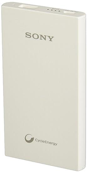 047354455fb Sony Cargador Portátil 5,000 mAh Color Blanco: Amazon.com.mx: Electrónicos