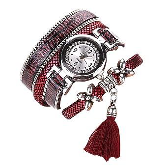 bracelet En De Ruikey Avec Ethnique Femme Tressée Corde Style Montre m0Owv8PyNn