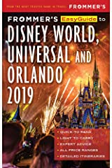 Frommer's EasyGuide to DisneyWorld, Universal and Orlando 2019 Paperback