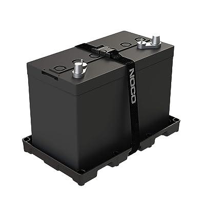 NOCO BT31S Group 31 Heavy-Duty Battery Tray,Black: Automotive