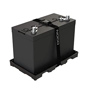 NOCO BT31S Group 24-31 HD Battery Tray for Automotive, Marine and RV Batteries