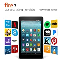 Amazon.com deals on Fire 7 Tablet with Alexa, 7-inch 8 GB w/Special Offers