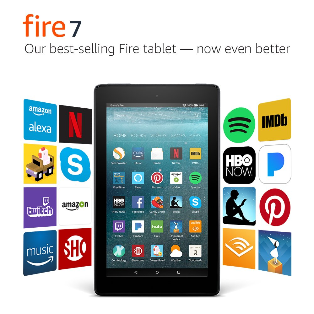 $34.99 (reg $50) Fire 7 Tablet...