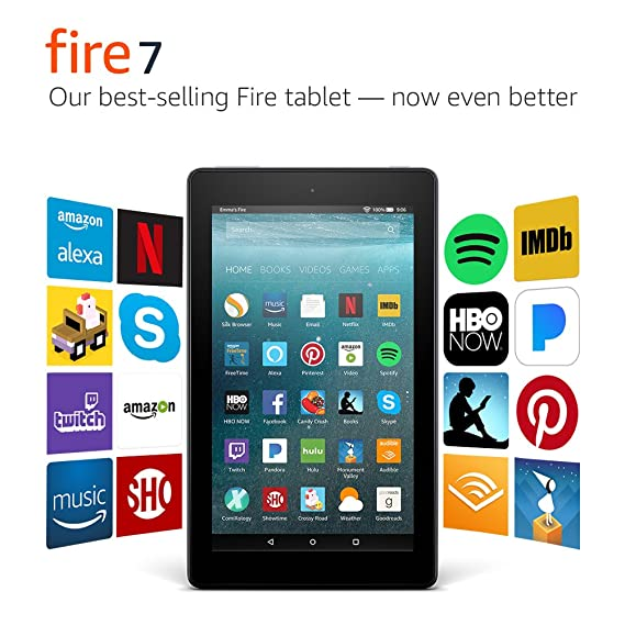 Review Fire 7 Tablet with