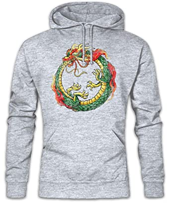 Dragon Capuche Infinity Hoodie Sweats Chinese Ouroboros À Pullover gf6vb7yY