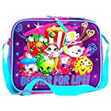 Shopkins Girls Canvas Purple Insulated Lunch Bag