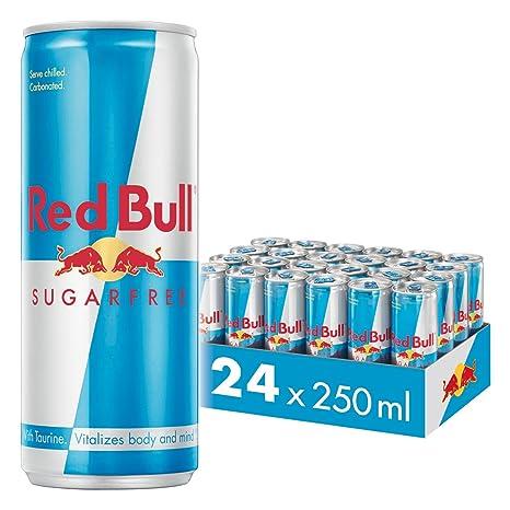 red bull energy drink sugar free 24 pack of 250 ml sugarfree
