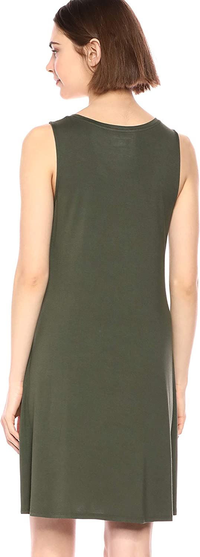 Essentials Womens Tank Swing Dress