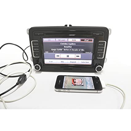 Amazon com: Aftermarket VW Volkswagen Car Radio OEM Chrome