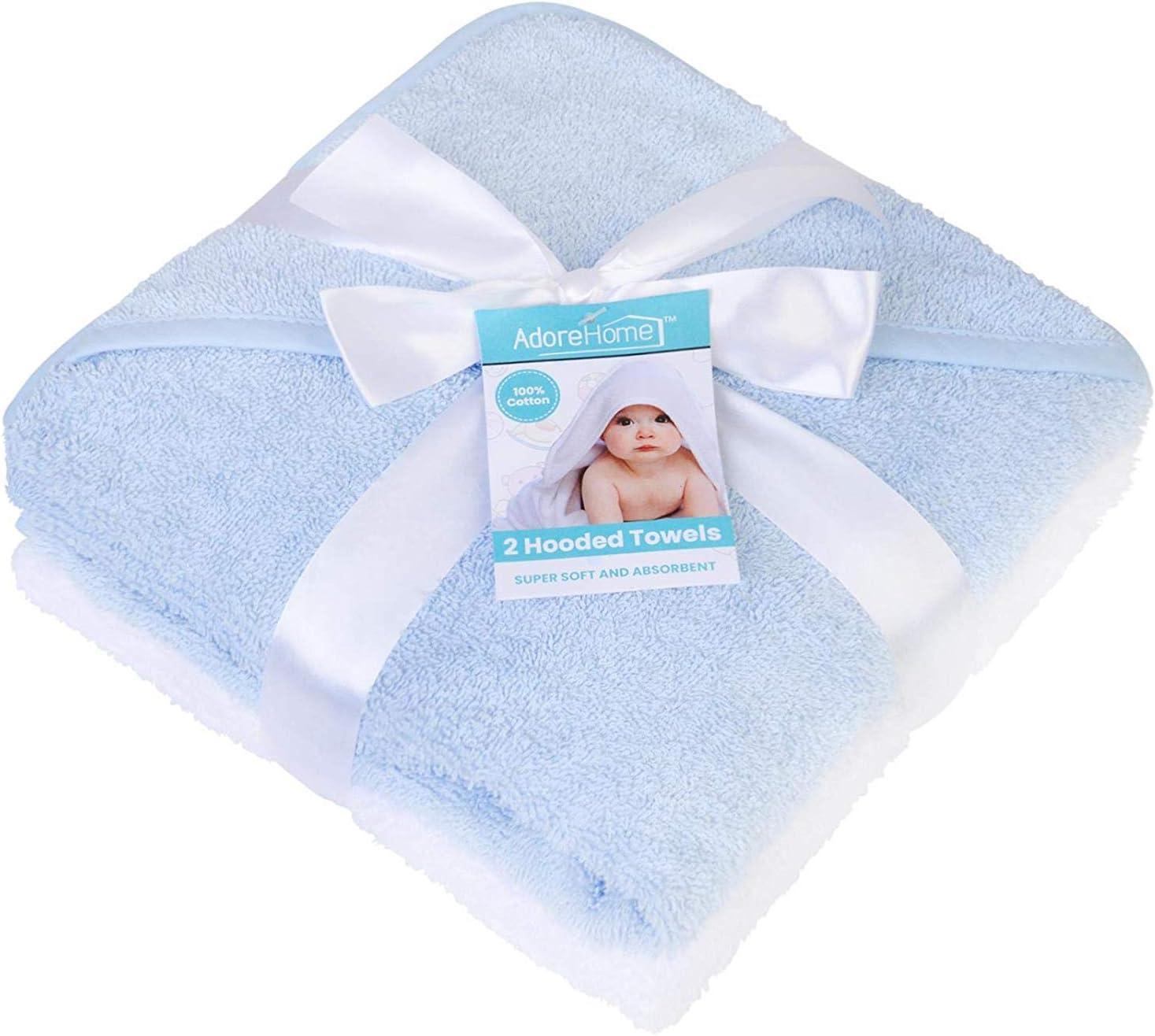 toypost 2pk Hooded Towels Blue