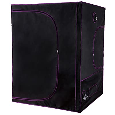 """Apollo Horticulture 60""""x60""""x80"""" Mylar Hydroponic Grow Tent"""