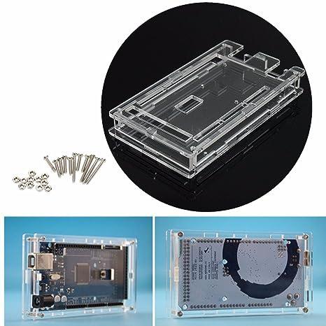 Bluelover Caja de protección transparente carcasa de ...
