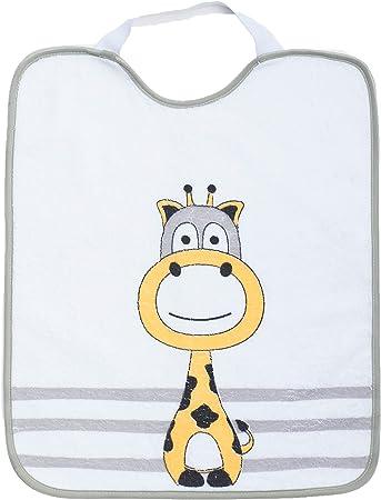 Ti TIN - Pack de 3 Baberos Impermeables para Niño con Cierre con Goma 100% Microfibra Poliéster | Lote de 3 Baberos para Bebés de Más de 1 Año, 31x37 cm