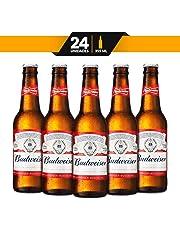 Cerveza Importada Budweiser Classic 24 Piezas 355 Ml