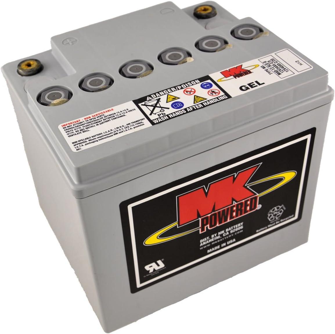 MK M40-12 SLD G - Batería de gel para sillas de ruedas y motos (12V, 40Ah)