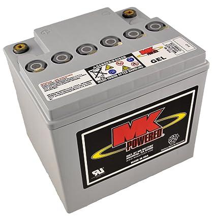 MK M40-12 SLD G - Batería de gel para sillas de ruedas y motos