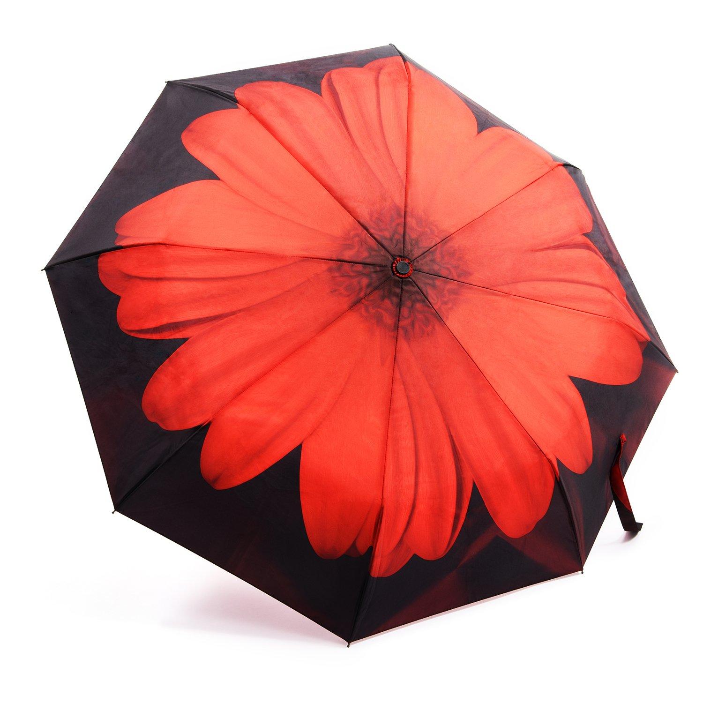 d3bc2d4ee6c2 Oak Leaf Automatic Travel Umbrella, Auto Open/close Foldable Rain ...