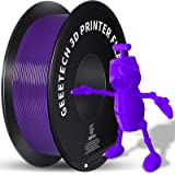 GEEETECH 1.75mm PLA 3D Printer Filament, 1kg Spool (2.2lbs), Upgrade Tidy Winding Tangle-Free, Dimensional Accuracy +/- 0.03m