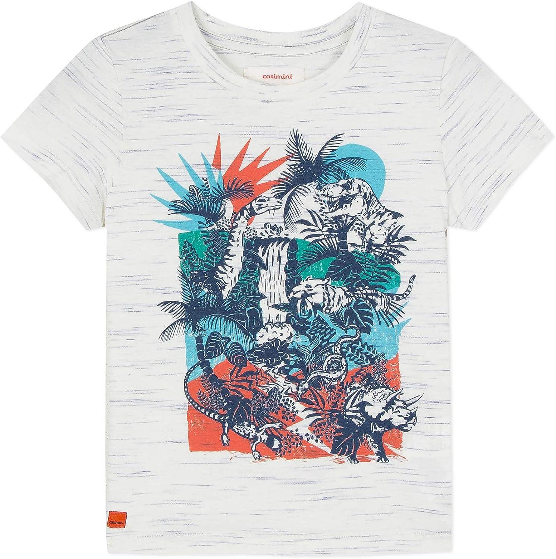 Catimini Cn10004 Camiseta, Marfil (Écru 11), 8 años (Talla del Fabricante: 8A) para Niños: Amazon.es: Ropa y accesorios