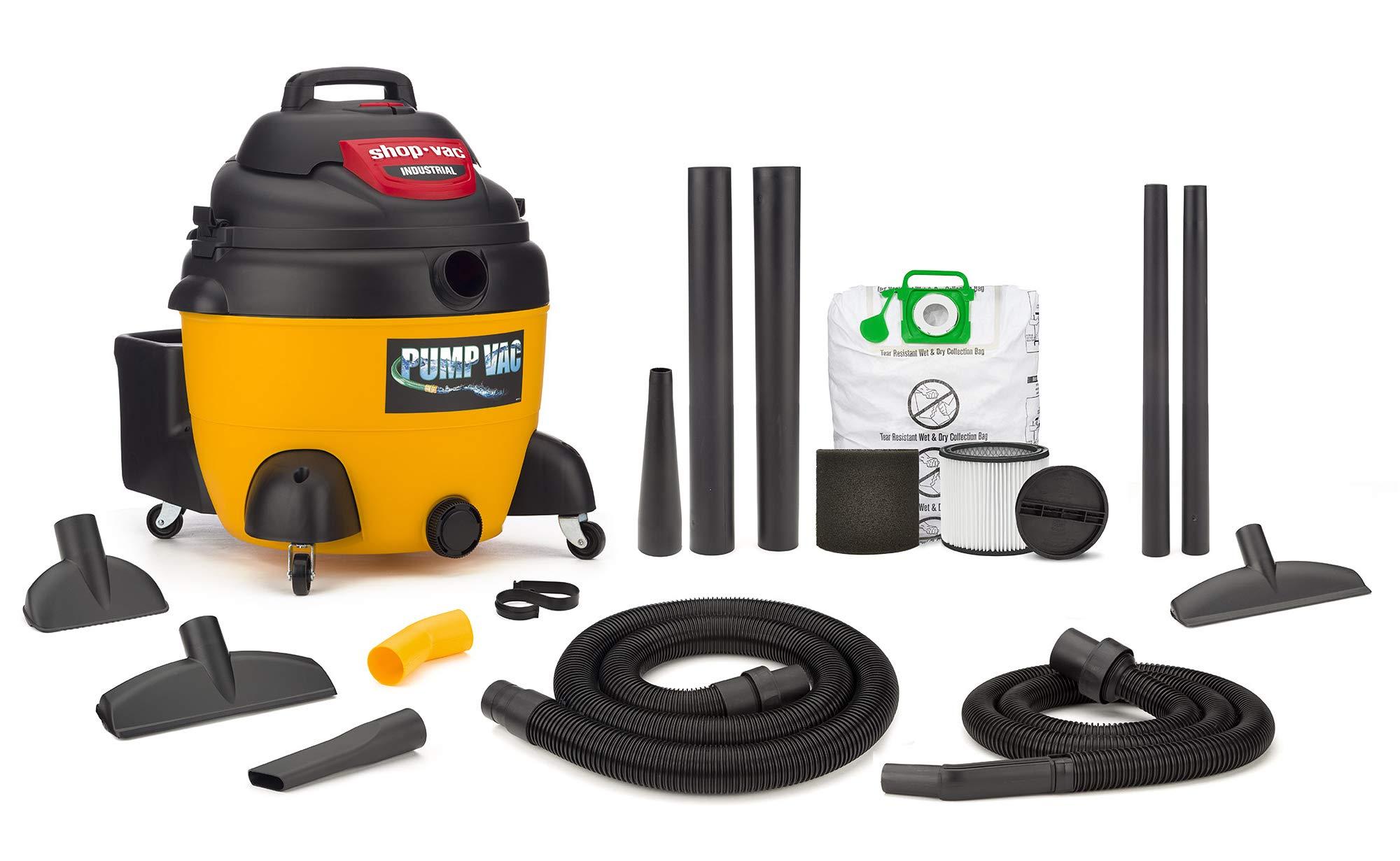 Shop Industrial Wet Dry Pump Vacuum