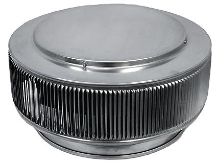 Amazon com: Aura PVC Vent Cap, 12 Inch Diameter (Mill finish): Cell
