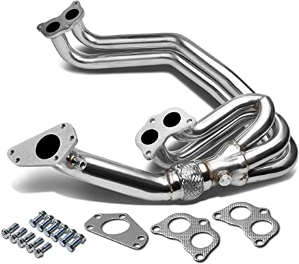 For 02-07 Impreza WRX//STI EJ20 EJ25 Stainless Manifold Header Up Pipe//Exhaust