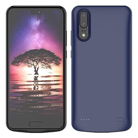 Huawei P20 Funda Batería, Moonmini 6000mAh Externa Portátil ...