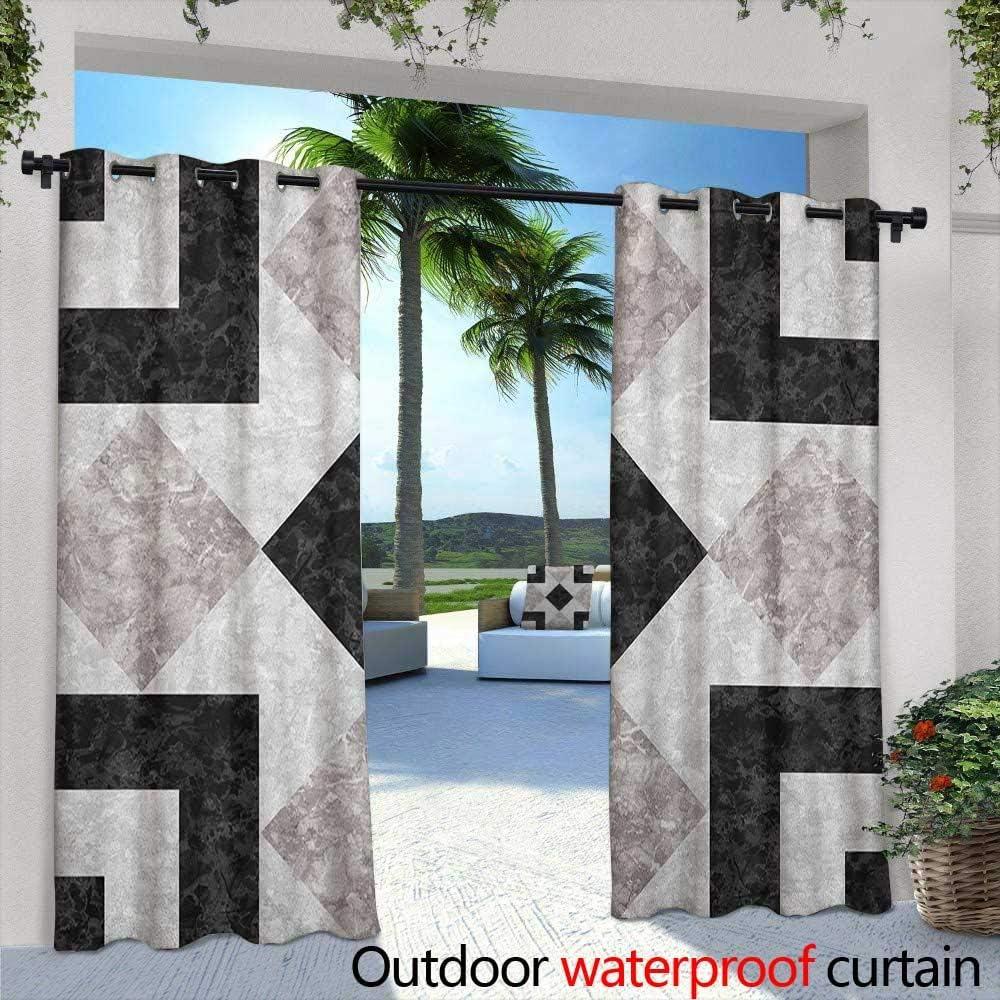 Cortina para Puerta corredera de mármol con diseño Vintage y Arandelas para Dormitorio, Color Gris pálido, Arena marrón: Amazon.es: Jardín